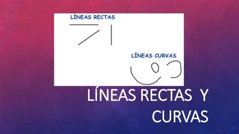 lineas rectas y curvas geometria lineas rectas y lineas curvas