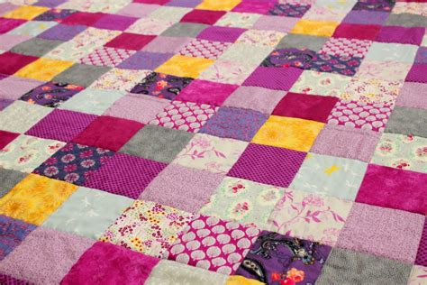 patchwork quilt purple and grey patchwork quilt coralie green