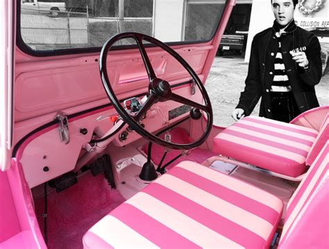 Willy Pink Sale Only 40k the pilgrams pink surrey jeep elvis style kaiser