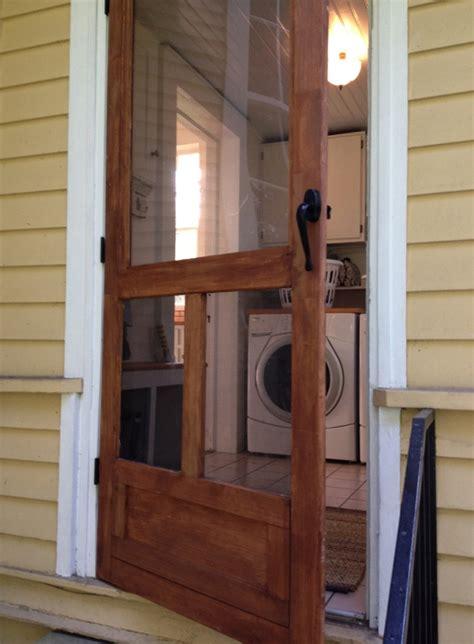 Door Back Door Screen Door Ben Made For Back Of House Hooked On Houses