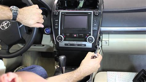 how to remove dash panel from a 2012 buick enclave 2012 2013 camry dashboard removal youtube
