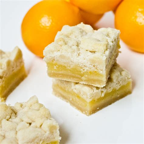 meyer lemon bars recipe dishmaps