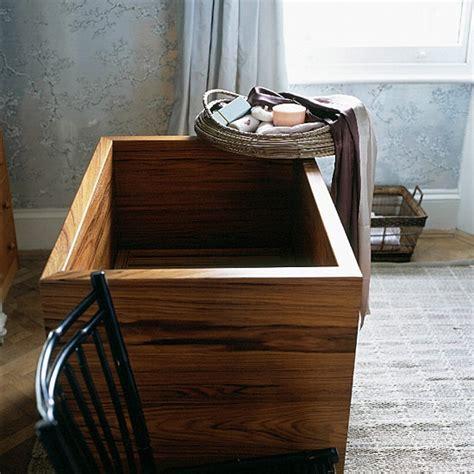 teak bathtub japanese teak bath for small spaces minimalist pinterest