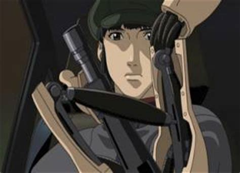 ghost in the shell    cybernetics