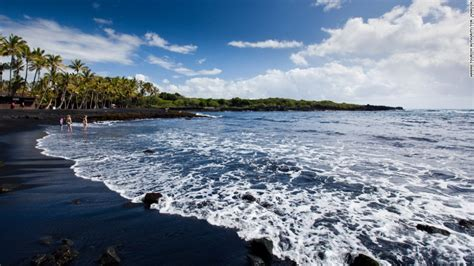 punaluu black sand beach 20 more can t miss u s beaches cnn com