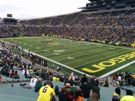 autzen stadium student section autzen stadium student section oregon ducks seating chart