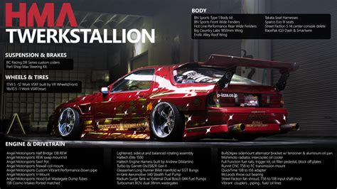 hoonigan rx7 twerk stallion car news and media topic taable note