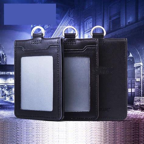 porta badge pelle porta badge in pelle acquista a poco prezzo porta badge in