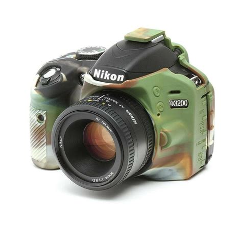 silicone cover for nikon d3200 lcd screen protector camouflage ebay