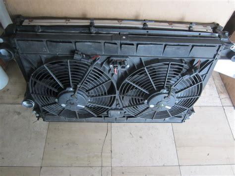 maserati fans maserati maserati quattroporte radiator condensor fan