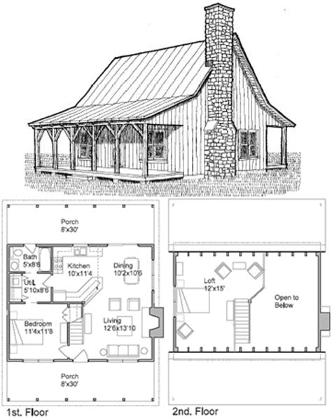 Simple Cabin Floor Plans Gallery For Gt Simple Loft House Plans