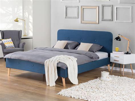 bettgestelle 180x200 ohne matratze bett dunkelblau mit lattenrost doppelbett polsterbett