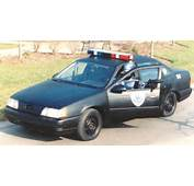 Classified Find Of The Day Robocop 3 Ford Taurus Cop Car