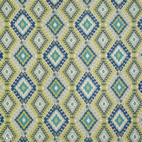 Dragonfly Upholstery Fabric by Dragonfly Green And Teal Cotton Upholstery Fabric