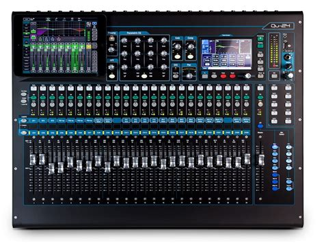 Mixer Allen And Heath allen and heath qu series 24 ch digital mixer for live studio and installation soto