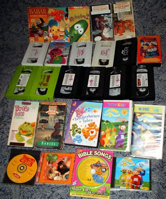 What I Did Not Learn In Mba Barney by Recycletoys4kids Mix Lot Talking Barney 41 Vhs Veggie