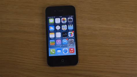a iphone 4 iphone 4 ios 7 0 4 review