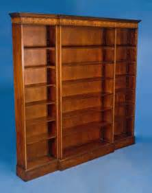 mahogany breakfront bookcase for sale