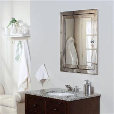 recessed mirrored bathroom cabinets afina metro recessed medicine cabinet contemporary