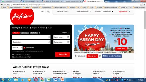 airasia website 5 crucial steps airasia booking