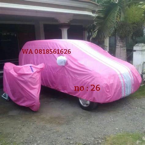 Cover Mantroll Mobil Toyota Agya Abu Biru jual harga cover mobil nissan march all new jazz kia