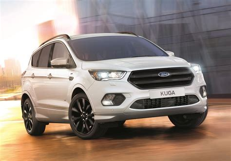 ford car line ford launches new kuga st line business car manager