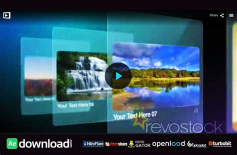 revostock archives free after effects template
