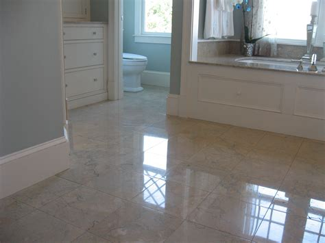 30 great ideas for marble bathroom floor tiles