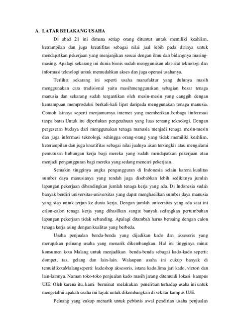 format laporan studi kelayakan bisnis contoh laporan studi kelayakan bisnis makanan ringan
