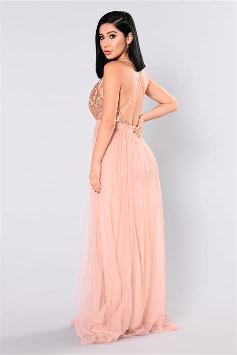 Kalung Fashion Rosegold 1 razzle baby sequin dress gold
