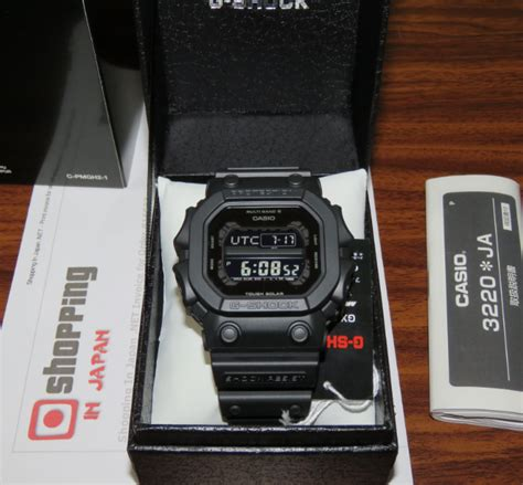 Gshock King Jdm Gx W56bb 1jf g shock gxw 56bb 1jf basic black multiband 6 shopping in