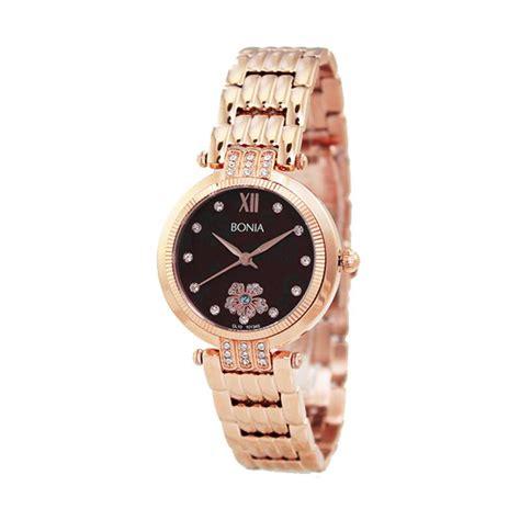Jam Tangan Bonia S53 Rosegold jual bonia b10133 2543s jam tangan wanita rosegold