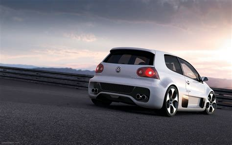 volkswagen gti sports car volkswagen golf gti w12 650 widescreen exotic car picture