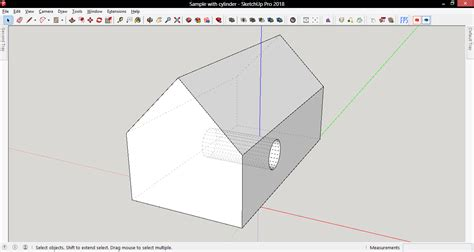 sketchup layout hidden geometry dotted lines in x ray view pro sketchup community