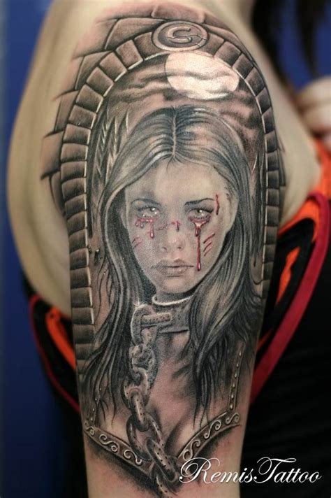 female warrior tattoos remistattoo gallery gallery black and