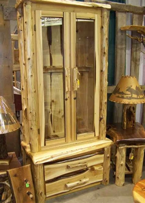 handcrafted rustic gun cabinet products  love