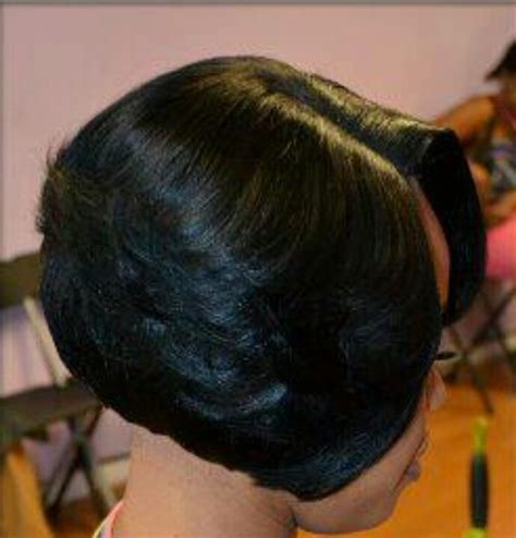 27 layer short black hairstyles bob in weave cosmetology school pinterest bobs