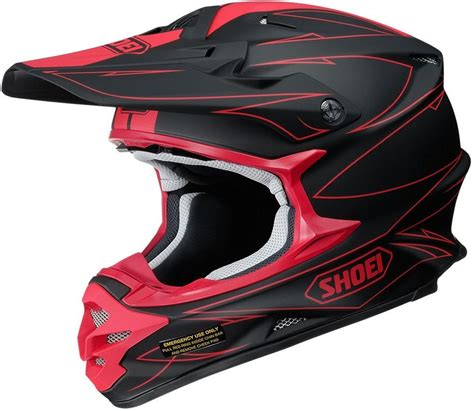 shoei motocross helmets closeout 424 84 shoei vfx w hectic mx motocross offroad riding