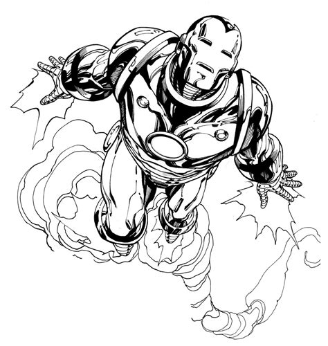 Free Printable Iron Man Coloring Pages For Kids Best Iron Black And White Coloring Pages