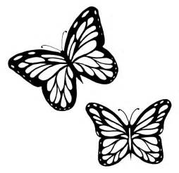 Flying Butterfly Outline by Flying Butterfly Outline Clipart Clipartfest