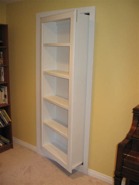 how to build a bookcase door how to make secret bookcase door doherty house