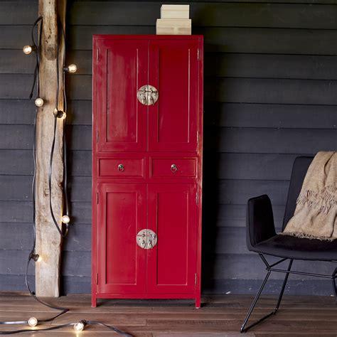 Kleiderschrank Mahagoni by Kleiderschrank Rot Mahagoni 150 Yuki Tikamoon