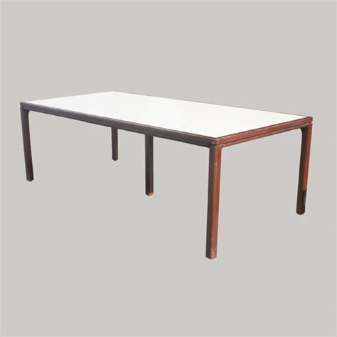 7 5 ft conference table laminated top by jens risom ebay