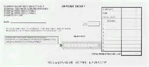 deposit slip info page advantage laser products