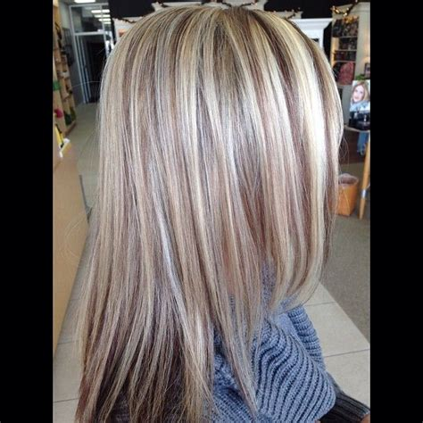 lowlights for blonde hair the 298 best images about highlights lowlights on