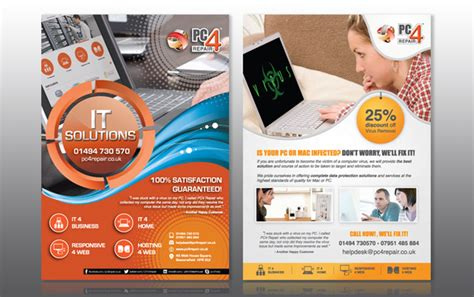 design your leaflet leaflet designs goodchilds design