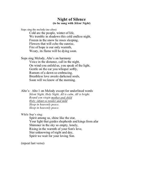 silent lyrics will silent german lyrics sheet silent