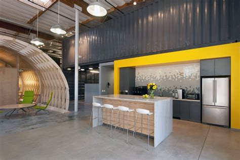 office kitchen ideas contemporary office space in california blends creativity