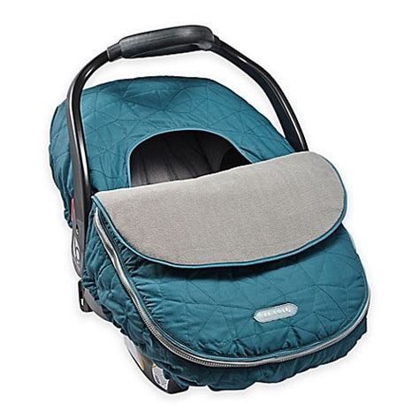 jj cole car seat cover safety jj cole 174 car seat cover in teal fractal buybuy baby
