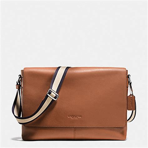 Coach Sulivan Messenger 1 coach f71726 sullivan messenger in smooth leather